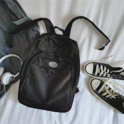 Anna Momo - Applique Nylon Backpack