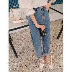 J-ANN - PLUS SIZE Wide-Leg Jeans