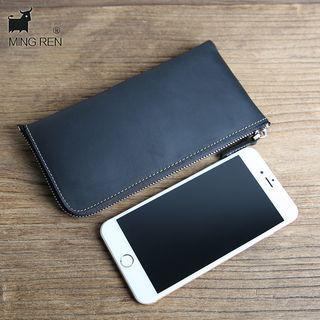 Wavecho - Genuine Leather Long Wallet