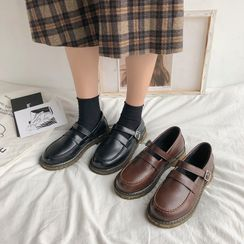 Margaux Jo - Double Strap Mary Jane Loafers