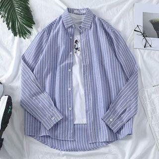 YAVER - 條紋襯衫