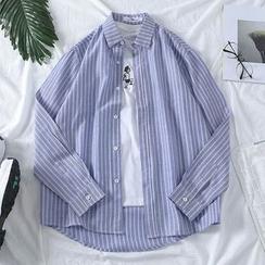 YAVER - Pinstripe Shirt
