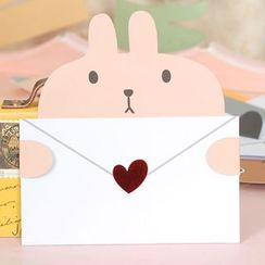 DAILYCRAFT - Animal Greeting Card (various designs)