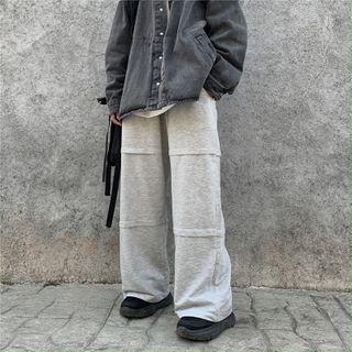LINSI - 宽腿运动裤