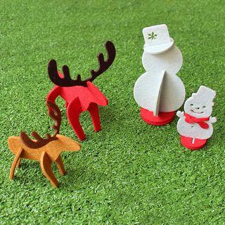 KIITOS - 聖誕不織布飾物 (多款設計)