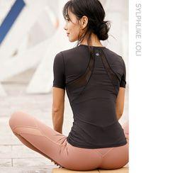 Sylphlike Loli - Quick Dry Short-Sleeve Sports Top