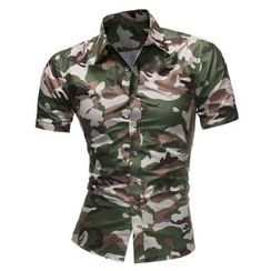 Cowofox - Camo Short-Sleeve Shirt
