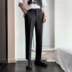 Wescosso(ウェスコッソ) - Shift Cropped Dress Pants