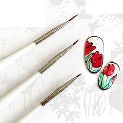 WGOMM - Set of 3: Nail Art Brush