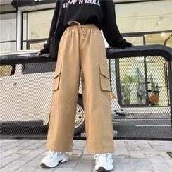 Sevilla - Cropped Wide-Leg Pants