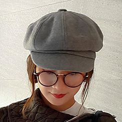 Hats 'n' Tales - Plain Newsboy Cap