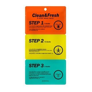 EUNYUL - Clean & Fresh 3-Step Nose Pack