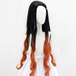 HSIU - Demon Slayer Kamado Nezuko Cosplay Wig
