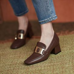 Kireina - Block-Heel Loafers