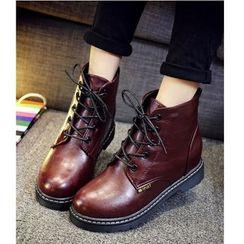 Satomi - 系带短靴
