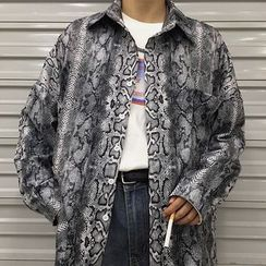 Banash - Snake Print Shirt