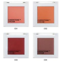 TONYMOLY - Cheektone Single Blusher Cream (5 Colors)