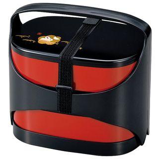 Hakoya - Hakoya Family Lunch Box Kuro Hanko Usagi