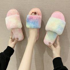 GRUNE - Furry Home Slippers