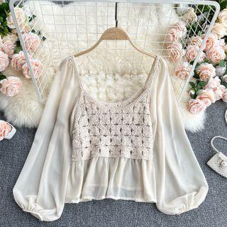 Lucuna - 鉤織針織襯衫