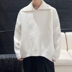 Lamow - Plain Collared Sweater