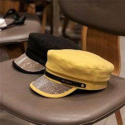 Hufu - Embellished Military Cap