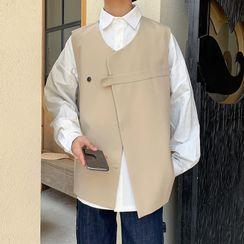 Oakjam - Asymmetrical Vest
