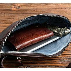 Wavecho - Genuine Leather  Belt Bag