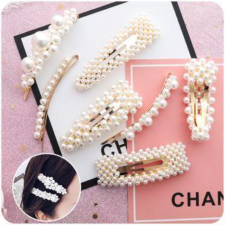 Chimi Chimi - Faux Pearl Hair Clip (various designs)