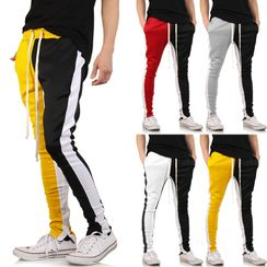 Fireon - Color Block Drawstring Sweatpants