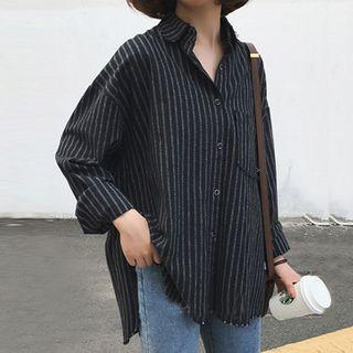 Romantica - 长袖条纹衬衫