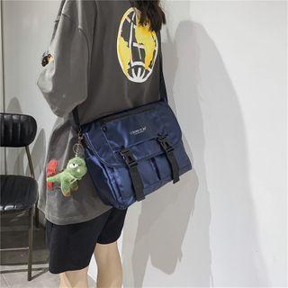 Mulgam - Buckled Canvas Crossbody Bag
