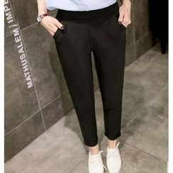 Jenny's Couture - Plain Tapered Pants