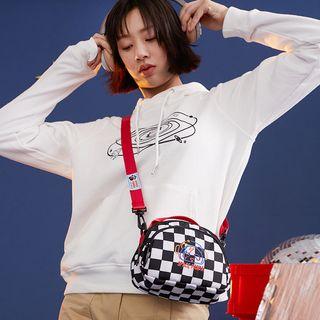 Nibby - Embroidered Nylon Crossbody Bag