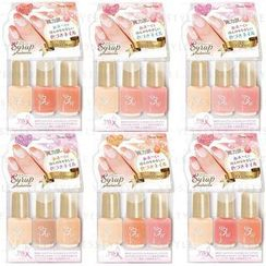 LUCKY TRENDY - Cream 3 Colours Cocktail Nail Polish - 6 Types