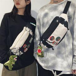 SUNMAN - Drawcord Sling Bag