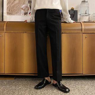 Seoul Homme - Wide-Leg Dress Pants