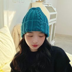 LANWO - Plain Knit Beanie