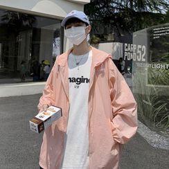 Bay Go Mall - Hooded Zip-Up Jacket