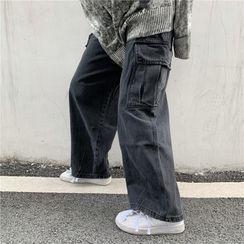 2DAWGS - Wide-Leg Cargo Jeans