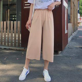 Bon Vivant - Crop Wide Leg Pants