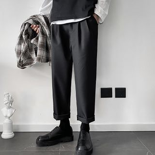 Odin King - Straight-Cut Dress Pants