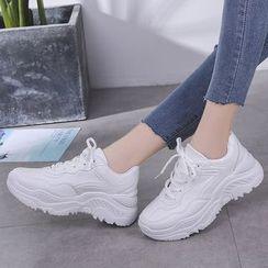Classique - Platform Sneakers