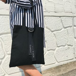 Eastin - Strap-Detail Canvas Tote