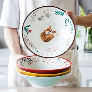 Beaucup - Animal Print Ceramic Bowl