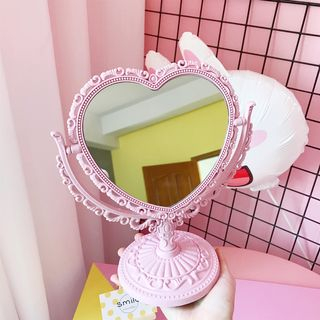 Olsin - Heart Shaped Desktop Mirror