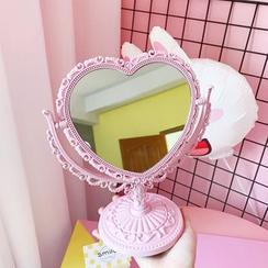 Olsin - 心型桌面鏡子
