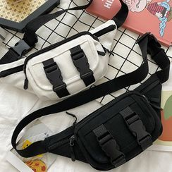 Road to Love - Buckled Sling Bag