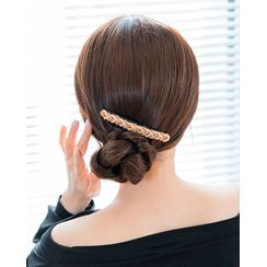 Miss21 Korea - Bead Trim Comb Hair Pin