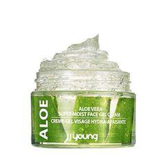 JJ YOUNG - Aloe Vera Super Moist Face Gel Cream